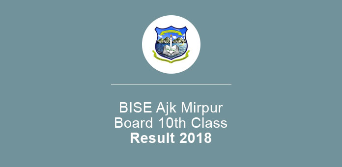 BISE Ajk Mirpur Board 10th Class Result 2020 Check Online