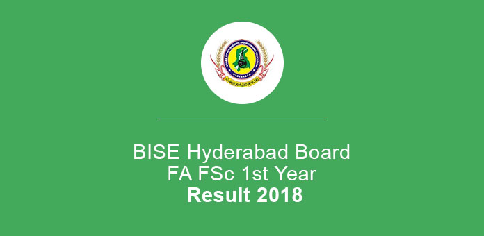 BISE Hyderabad Board FA FSc 1st Year Result 2020