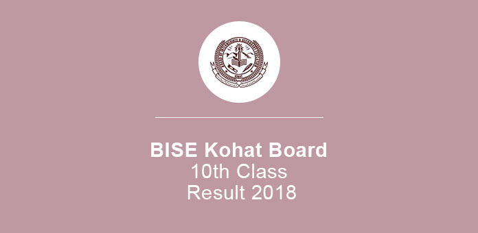 BISE Kohat Board 10th Class Result 2020 SSC Part 2