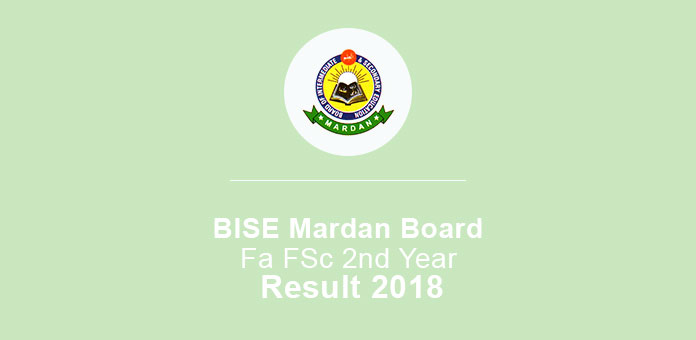 BISE Mardan Board FA FSc 2nd Year Result 2019