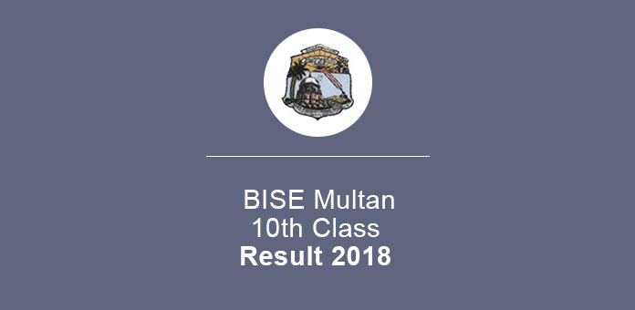 BISE Multan Result 2018 10th Class
