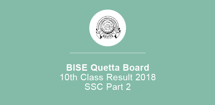BISE Quetta Board 10th Class Result 2020 SSC Part 2