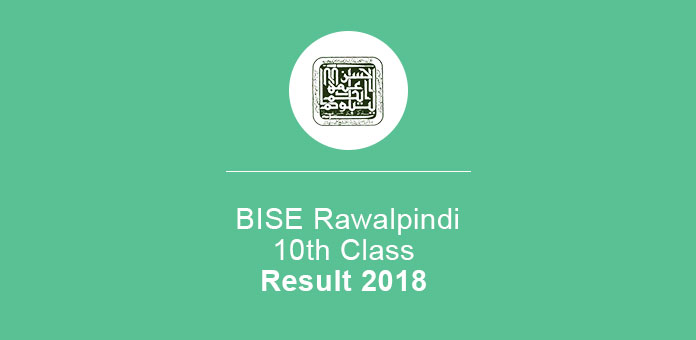 BISE Rawalpindi Board 10th Class Result 2019 SSC Part 2