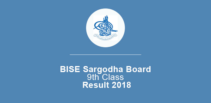 BISE Sargodha Board 9th Class Result