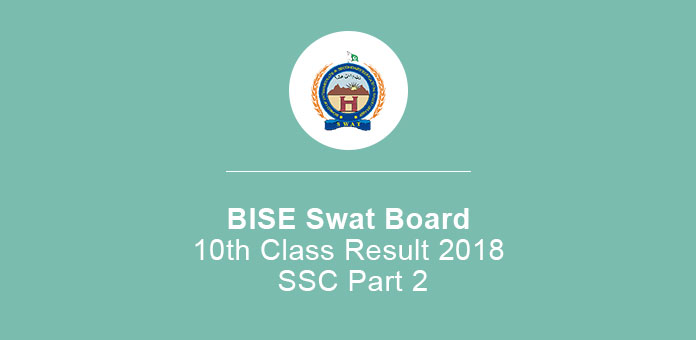 BISE Swat Board 10th Class Result 2020 SSC Part 2