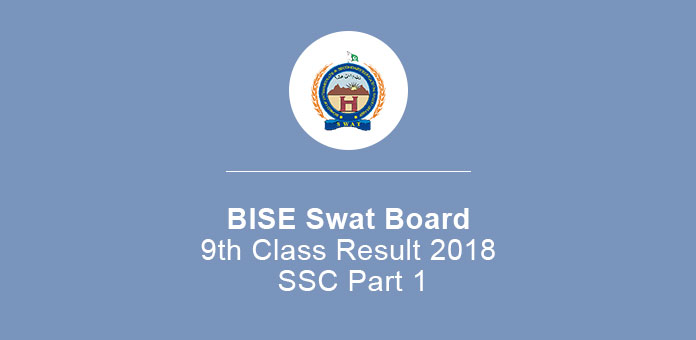 BISE Swat Board 9th Class Result 2020 SSC Part 1