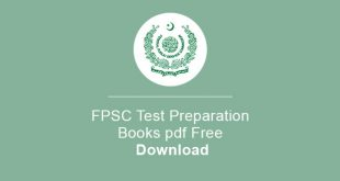 FPSC Test Preparation Books pdf Free Download