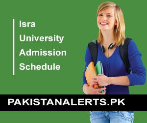 Isra University Admission Schedule 2020 subcamps