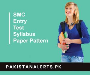 Sindh Medical Colleges Entry Test 2019 Syllabus Paper Pattern