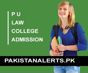 Punjab University Law College Admission Form 2020 Last Date